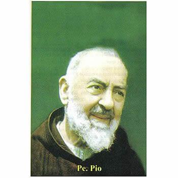 Santinhos de oração do Padre Pio de Pietrelcina