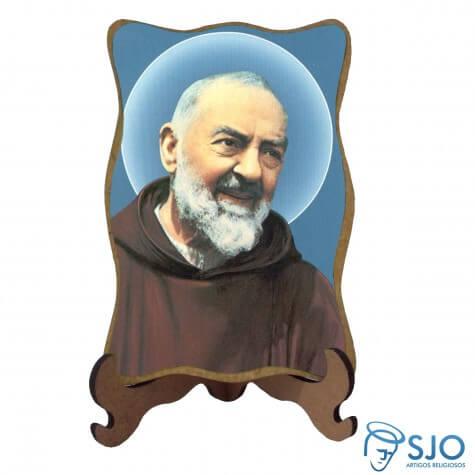 Porta-Retrato Padre Pio - Modelo 1