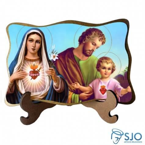 Porta-Retrato Sagrada Família - Modelo 3