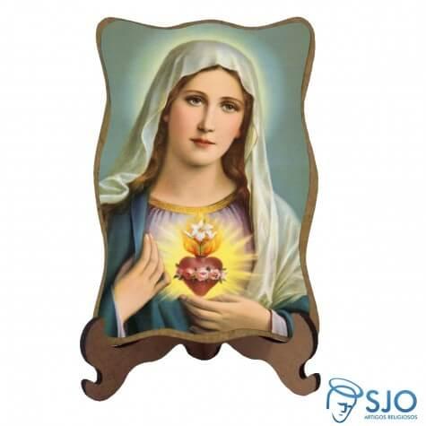 Porta Retrato Sagrado Cora��o de Maria - Modelo 2