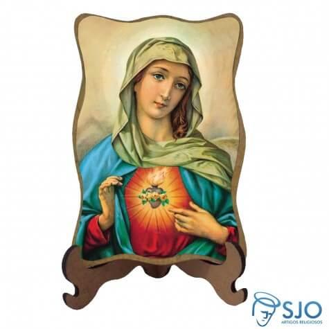 Porta Retrato Sagrado Cora��o de Maria - Modelo 1