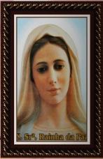 Quadro Religioso Nossa Senhora Rainha da Paz