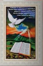 Quadro Religioso Texto B�blico - Mod. 2