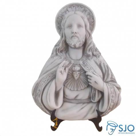 Imagem de Mesa/Parede Sagrado Cora��o de Jesus Parede em M�rmore