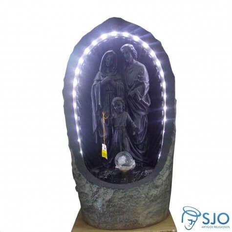 Fonte de Resina da Sagrada Fam�lia - 30 cm