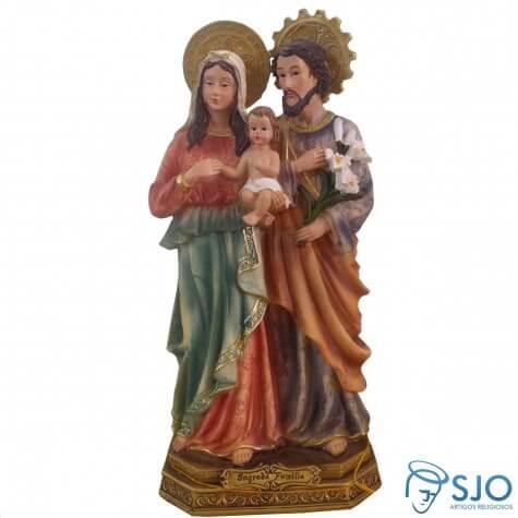Imagem de resina Sagrada Fam�lia - 30 cm