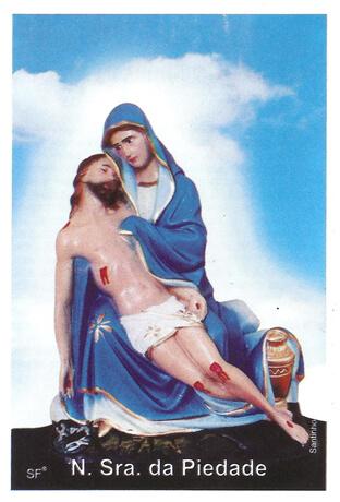 Santinhos de Oração Nossa Senhora da Piedade