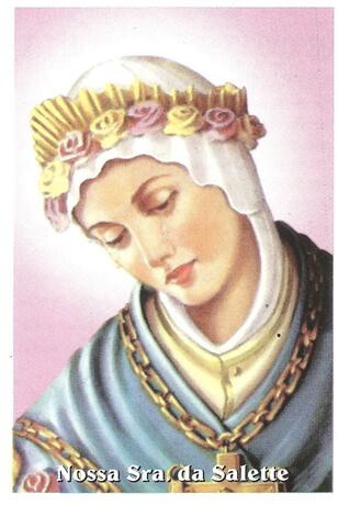 Santinhos de Oração Nossa Senhora da Salete