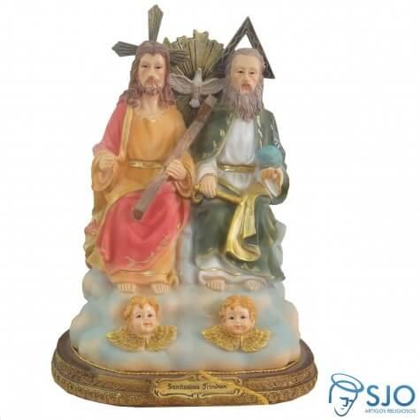 Imagem de resina Santíssima Trindade - 42 cm