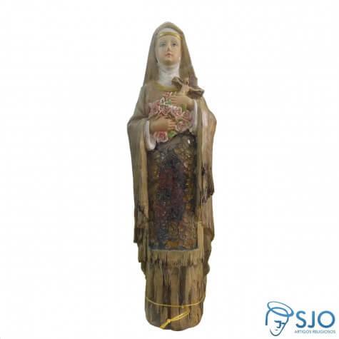 Imagem de resina Santa Terezinha - Modelo 2 - 30 cm
