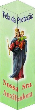 Velas de Proteção - Nossa Senhora Auxiliadora