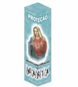 Vela de Proteção - Sagrado Coração de Maria