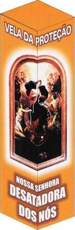 Vela de Proteção - Nossa Senhora Desatadora dos Nós