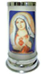 Porta Vela Jateado - Sagrado Coração de Maria