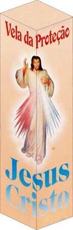 Vela de Proteção - Jesus Misericordioso