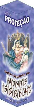 Vela de Prote��o - Nossa Senhora do Monte Serrat