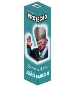 Vela de Proteção - Papa João Paulo II