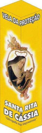 Vela de Proteção - Santa Rita de Cássia