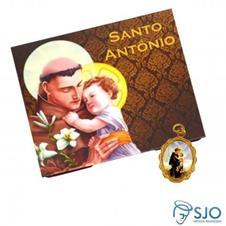 100 Cart�es com Medalha de Santo Ant�nio