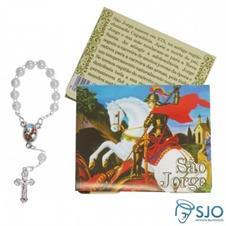 100 Cartões com Mini Terço de São Jorge
