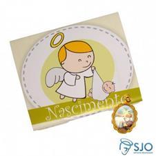 50 Cartões com Medalha de Nascimento