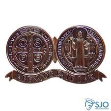 Medalh�o de S�o Bento Adesivo
