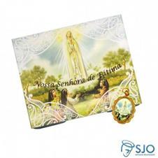 50 Cart�es com Medalha de Nossa Senhora de F�tima