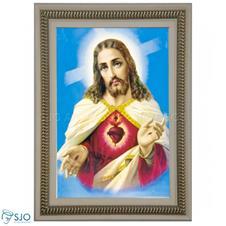 Quadro Religioso Sagrado Coração de Jesus - Mod. 3