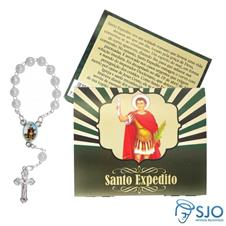Cart�o com Mini Ter�o de Santo Expedito