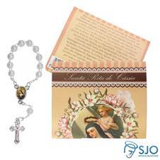 25 Cart�es com Mini Ter�o Santa Rita de C�ssia