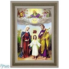 Quadro Religioso Sagrada Fam�lia - Mod. 2
