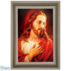 Quadro Religioso Face de Jesus - Mod. 2