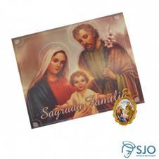 100 Cart�es com Medalha da Sagrada Fam�lia