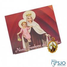 50 Cart�es com Medalha de Nossa Senhora do Carmo