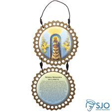 Adorno de Porta Redondo - Nossa Senhora do Loreto