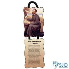 Adorno de porta retangular duas pe�as - S�o Francisco Xavier