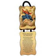 Adorno de porta retangular - Nossa Senhora Assun��o