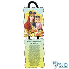 Adorno de porta retangular - Nossa Senhora da Sa�de