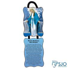 Adorno de porta retangular - Nossa Senhora das Gra�as - Mod 02