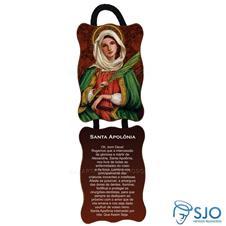 Adorno de porta retangular - Santa Apol�nia