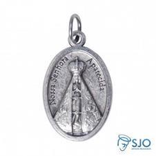 Medalha Oval Nossa Senhora Aparecida