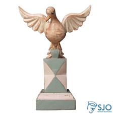 Adorno Divino Espírito Santo no Pedestal - 21 cm