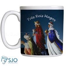 Caneca Três Reis Magos com Oração