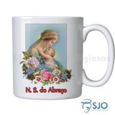 Caneca Nossa Senhora do Abra�o com Ora��o