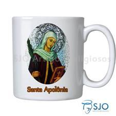 Caneca Santa Apolônia com Oração