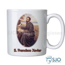 Caneca S�o Francisco Xavier com Ora��o