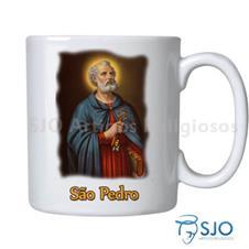 Caneca S�o Pedro com Ora��o