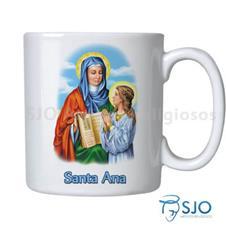 Caneca Santa Ana com Oração