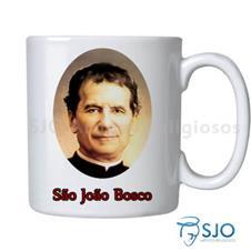 Caneca S�o Jo�o Bosco com Ora��o