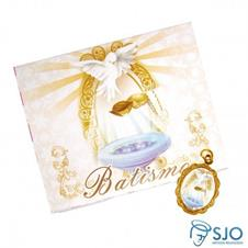 Cart�o com Medalha de Batismo
